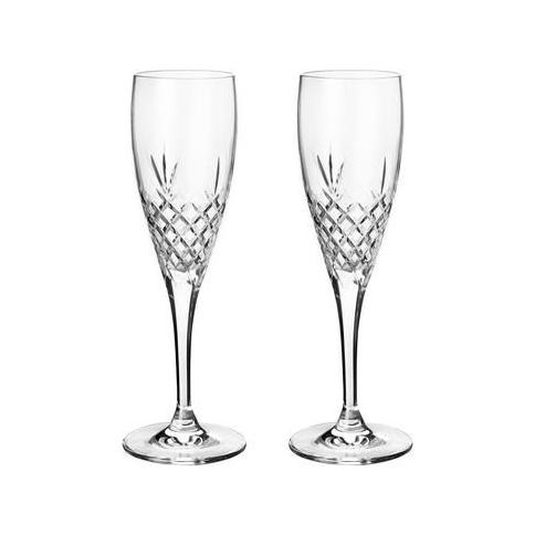 CRISPY CELEBRATION CHAMPAGNE GLASS 2PK